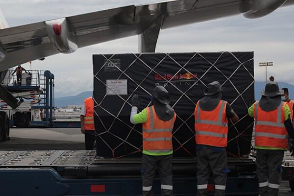 Aviones de Fórmula 1 llegan a México