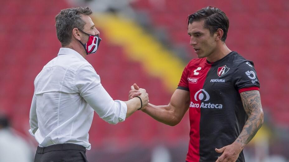 Diego Cocca se siente seguro en el banquillo atlista