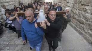 Esta semana santa será diferente en Jerusalén