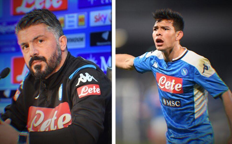 Gennaro Gattuso y Chucky Lozano
