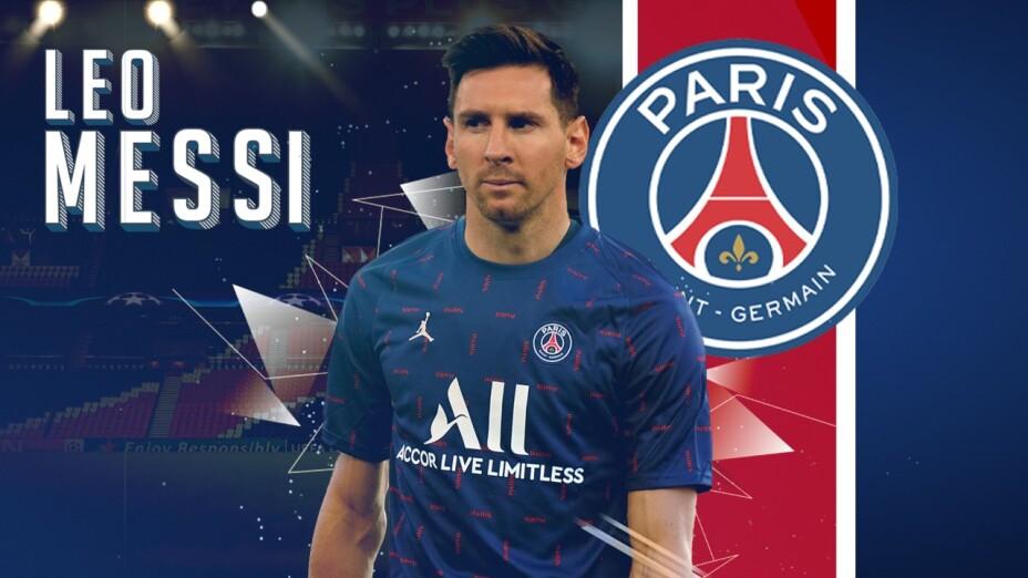 Messi nuevo jugador PSG