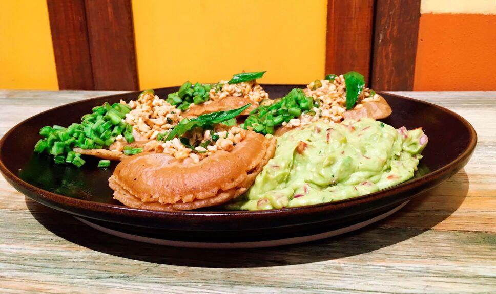 Receta Infladas con escamoles Cocineros Mexicanos