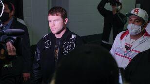 boxeador Saúl Canelo Álvarez