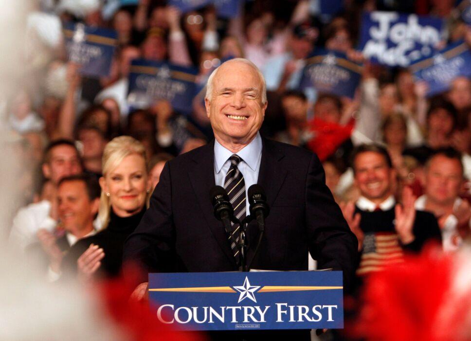Difunden carta de McCain a los estadounidenses