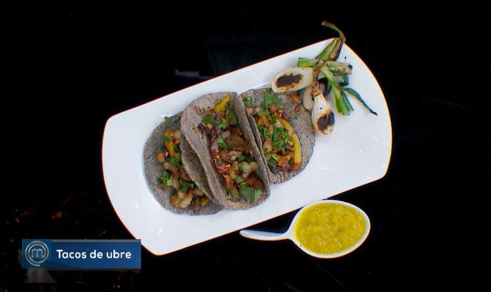 Tacos de ubre, MasterChef México 2018