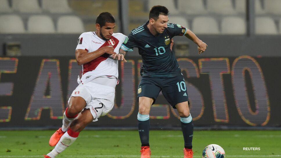 Lionel Messi ante Perú