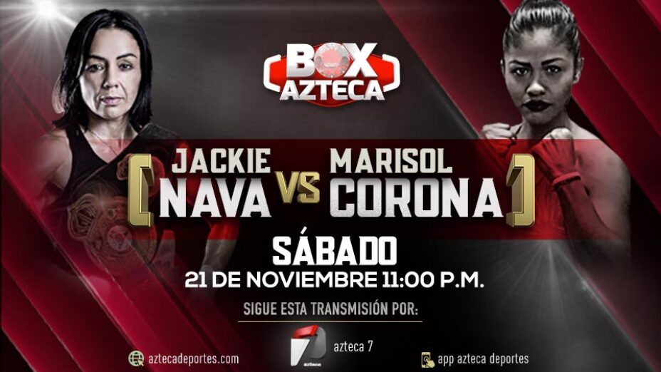 Jackie Nava vs Marisol Corona pelea sábado 21 de septiembre