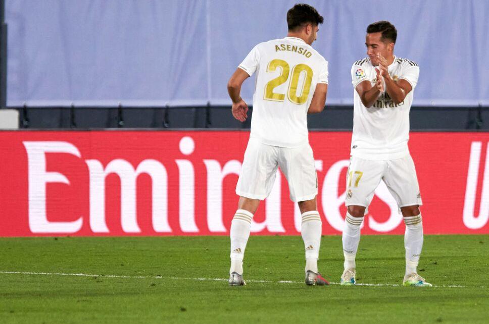 Asensio liquidó el partido para el Real Madrid