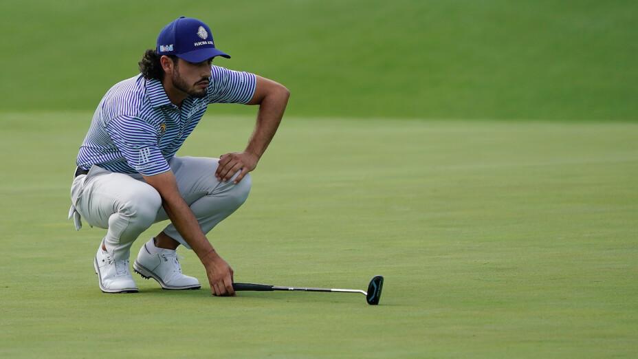 Abraham Ancer hizo su debut en el Masters Tournament