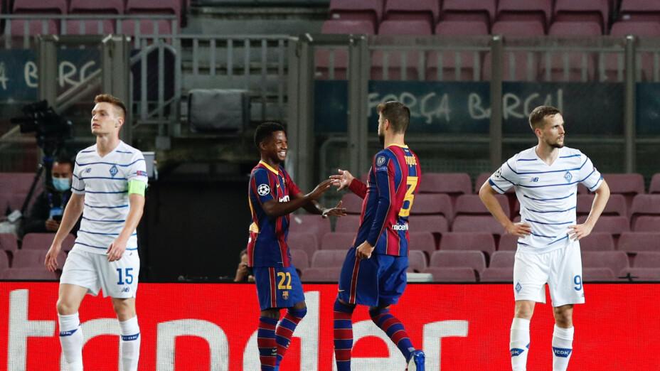 Barcelona vs Dinamo de Kiev