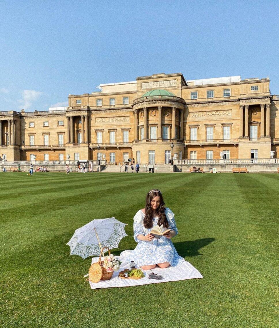 picnic en los jardines de buckingham