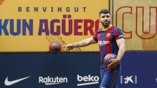 Presentación de Sergio Agüero