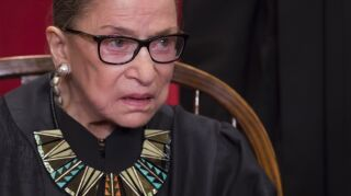 US Supreme Court Justices pose for formal portrait