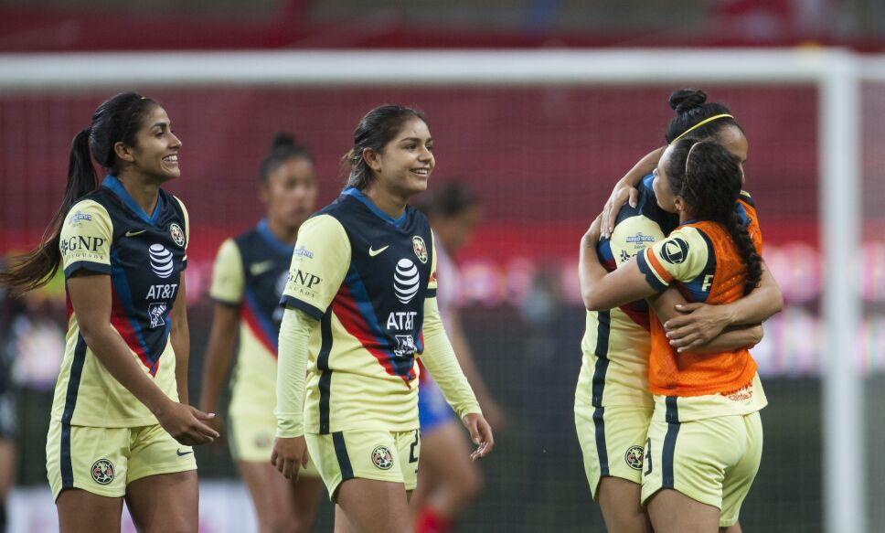 Semifinales Liga MX Femenil América