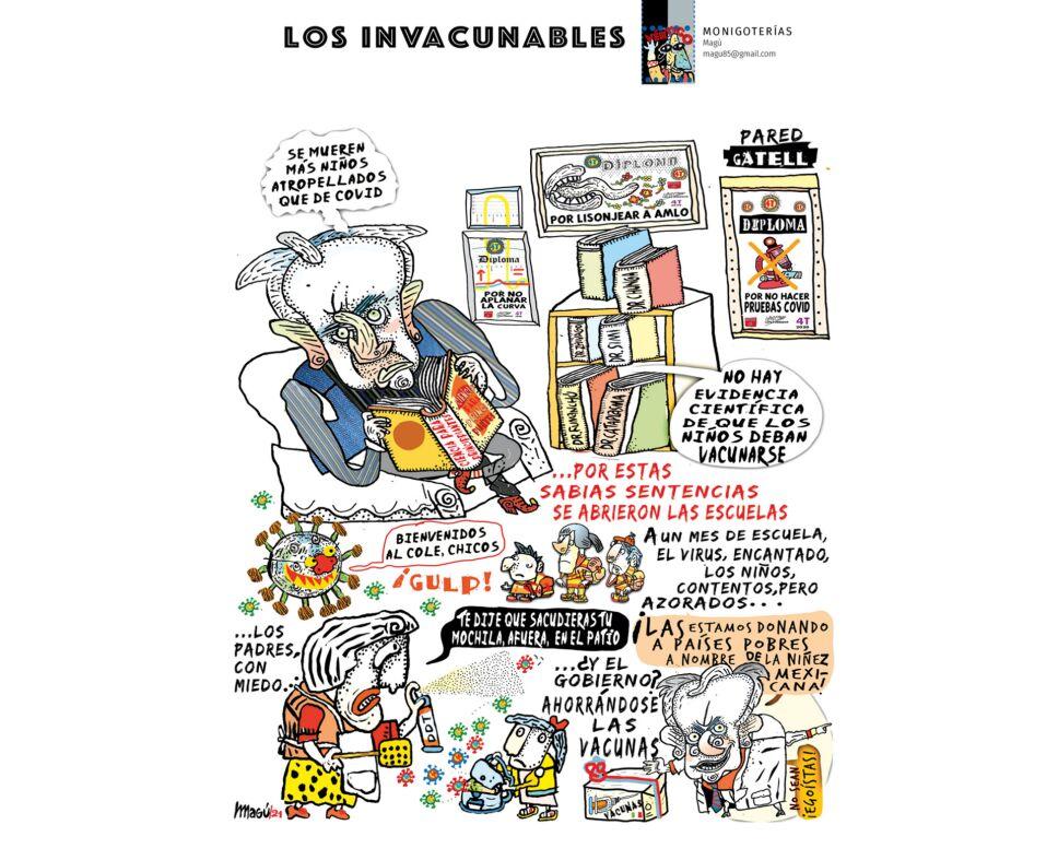 Los invacunables-Magú