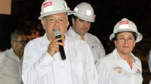 López Obrador visitó Dos Bocas en Tabasco