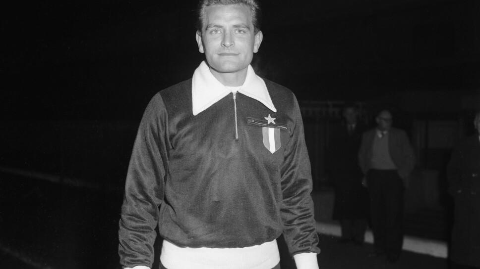 Giampiero Boniperti en la Juventus
