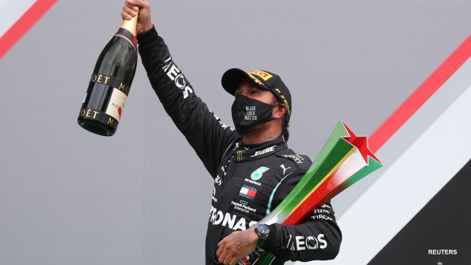 """El """"Hammertime"""" de Lewis Hamilton aplastó a todos"""