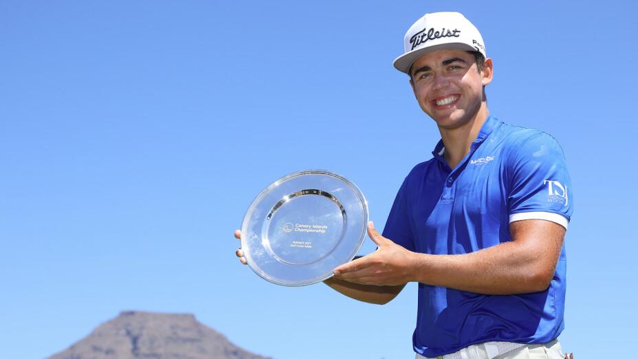 Garrick Higgo ganó el Islas Canarias Championship