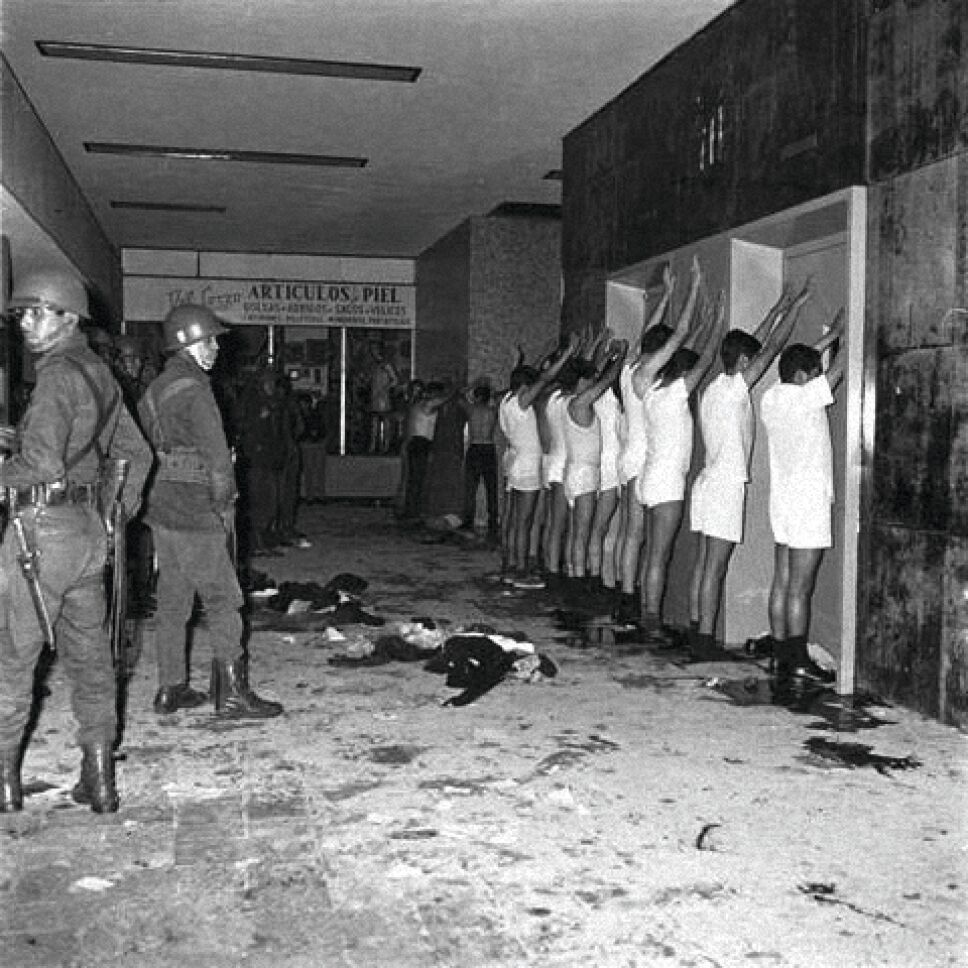 detenidos 2 de octubre tlatelolco 1968