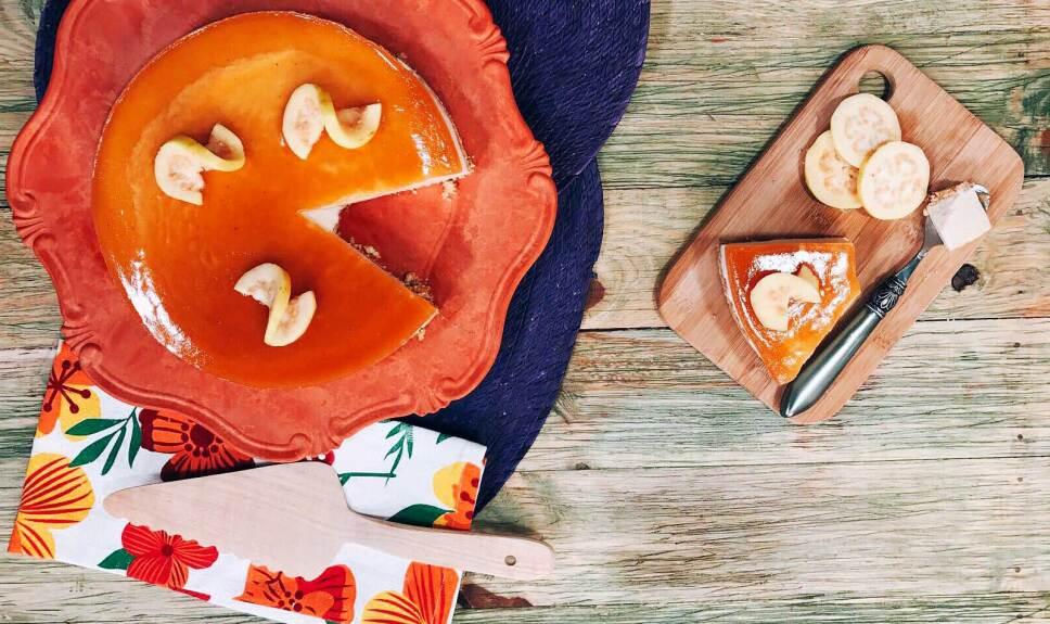 Receta Pastel frío de guayaba Cocineros Mexicanos