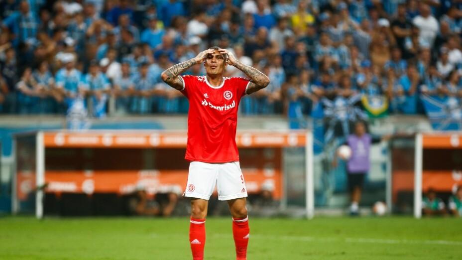 Paolo Guerrero, con el Inter de Porto Alegre