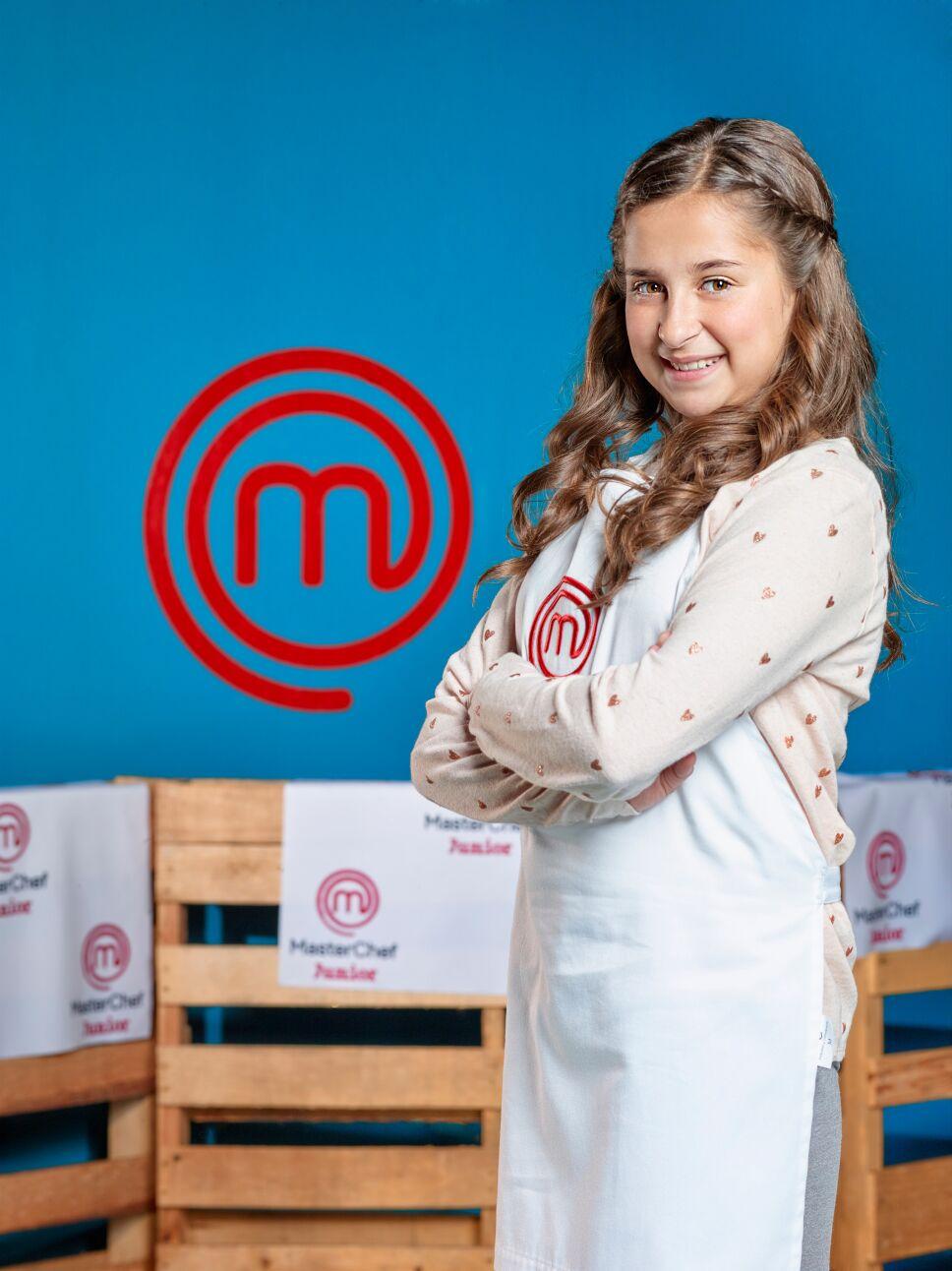 María José MasterChef Junior