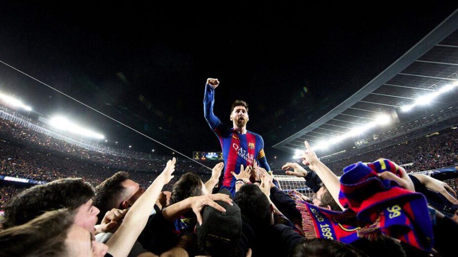 Messi Barcelons vs PSG