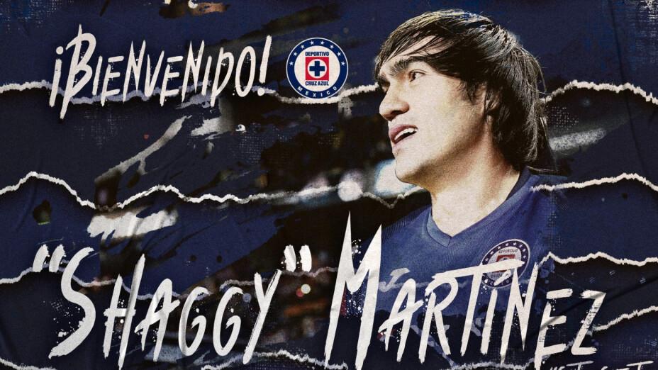 ¡El 'Shaggy' Martínez firmó con un grande de México!