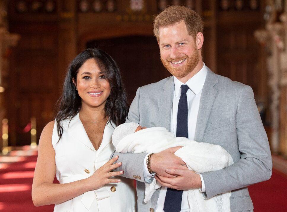 La hija de Meghan Markle y el príncipe Harry podría llamarse Diana