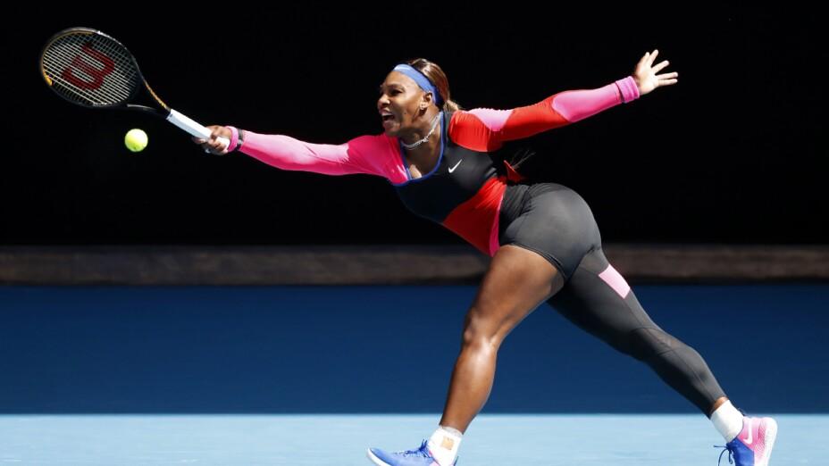 Serena Williams en el Abierto de Australia