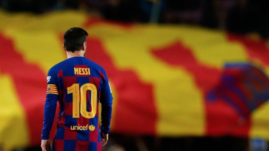 Messi anuncia que quiere salir del Barcelona