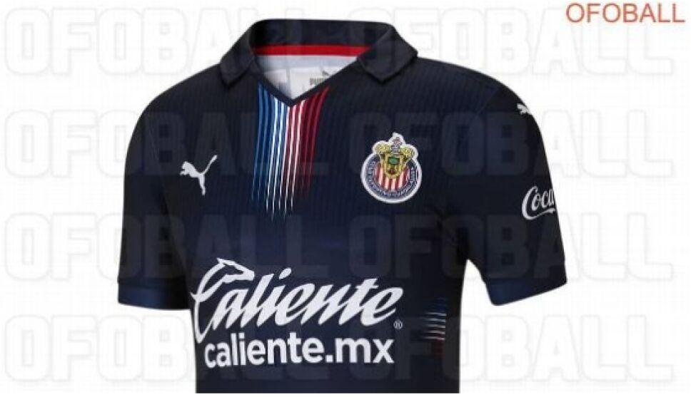 Filtran la nueva playera de Chivas para Guardianes 2021