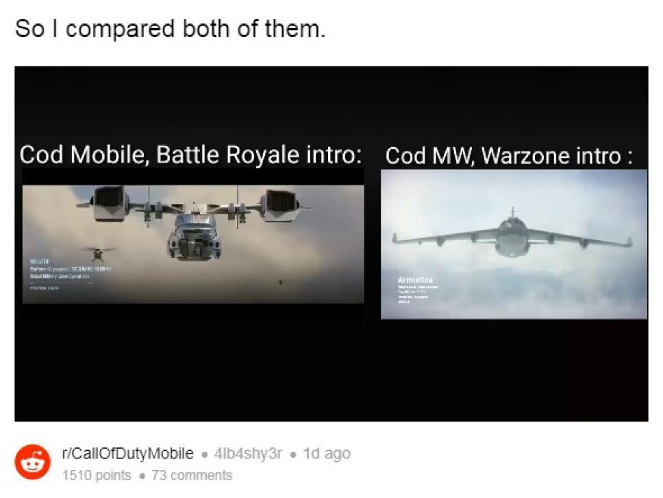 COD Mobile Avion