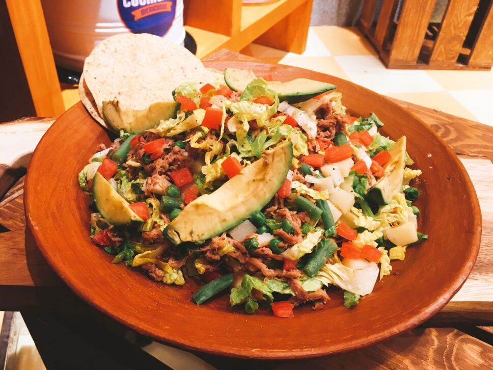 Salpicón de res, cocineros mexicanos