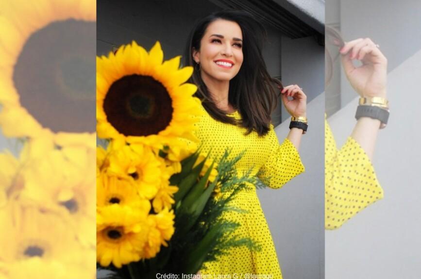 Laura G posee una de las sonrisas más bellas de la televisión.