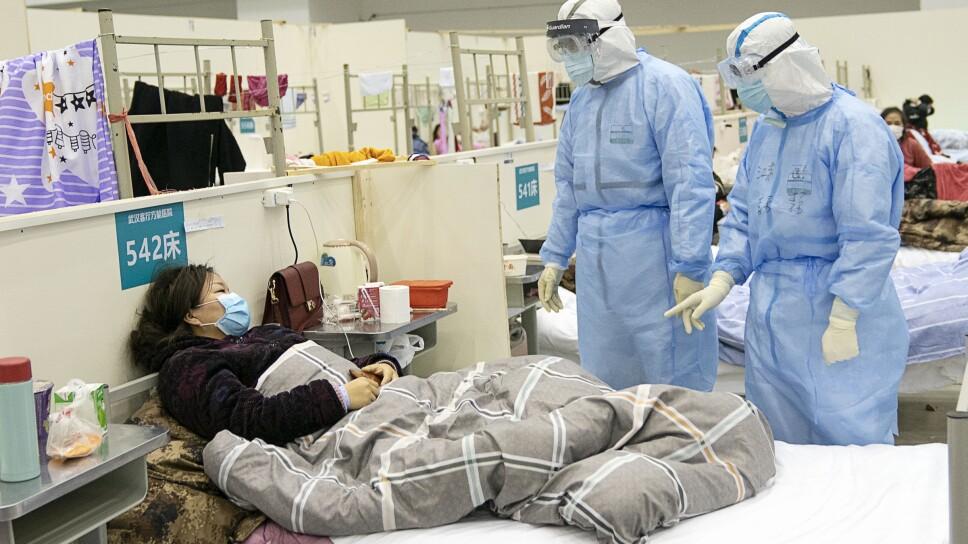 CHINA-HUBEI-WUHAN-HOSPITAL IMPROVISADO