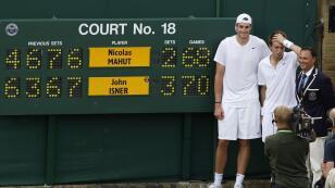 El partido más largo de la historia del tenis también se jugó en Wimbledon