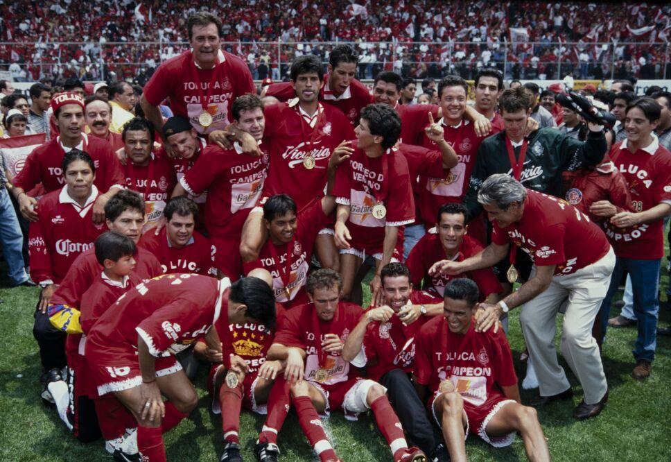 Toluca campeon 1998