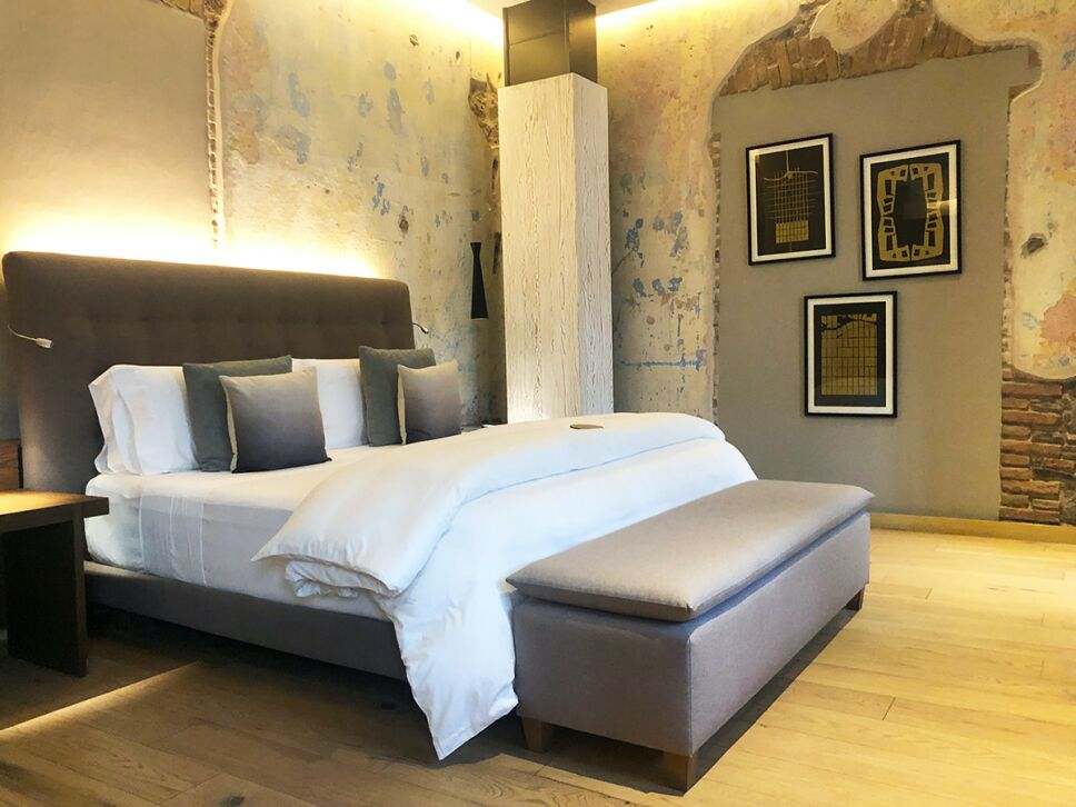 hotel cartesiano habitacion