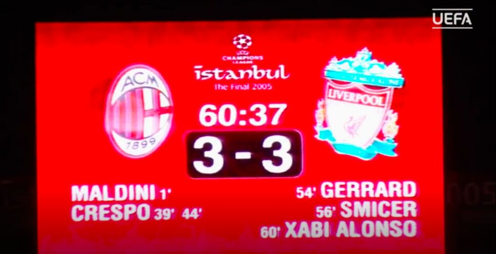 Milán 3-3 Liverpool