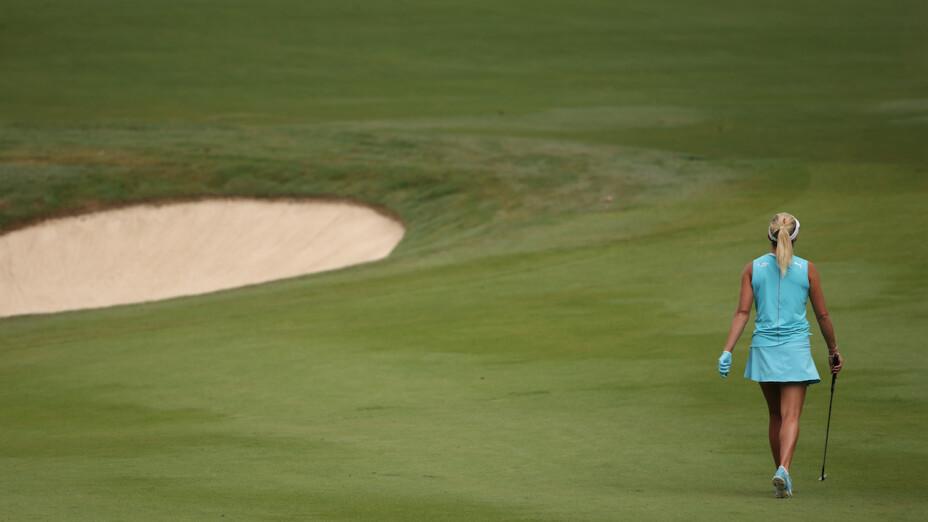 La golfista estadounidense Lexi Thompson está calificada a los Juegos Olímpicos.