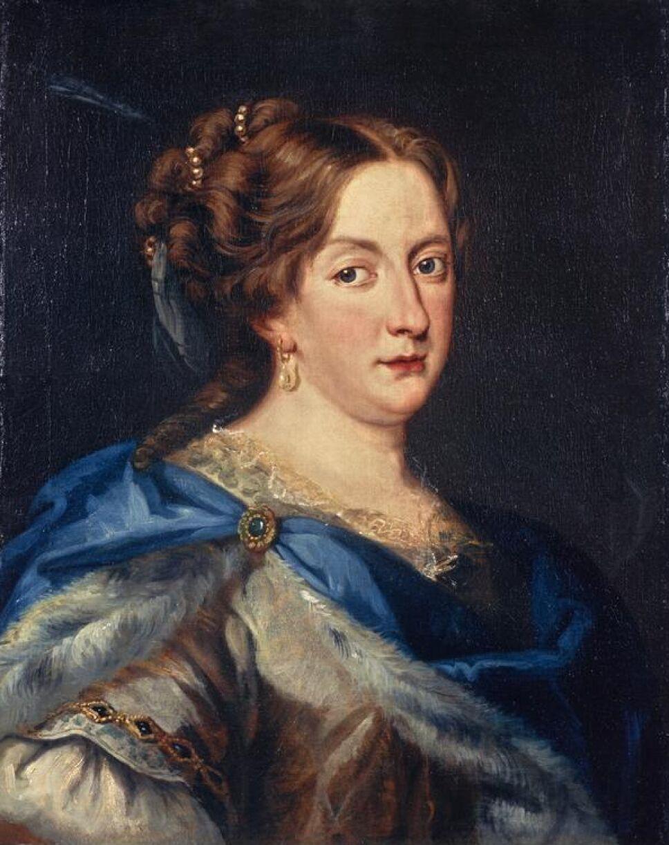 Cristina de suecia pintura