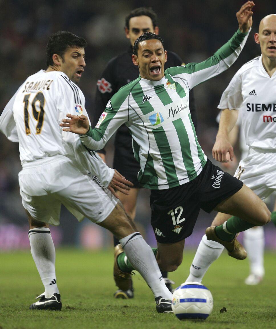 Walter Samuel en el Real Madrid