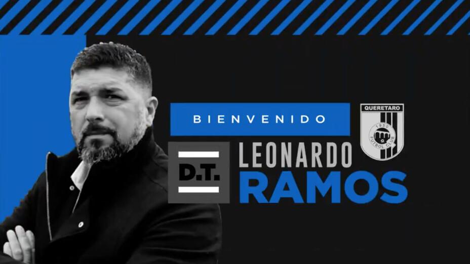 Leo Ramos DT Queretaro
