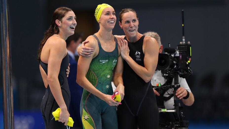 Equipo Femenil de Austalia en Natación