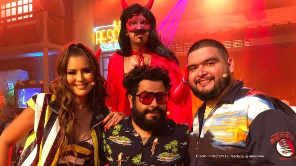 El Capi reta a Vanessa Claudio, El Diablito y La Mole a divertido duelo de reggaetón