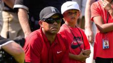 Tiger Woods jugará un torneo oficial con su hijo Charlie