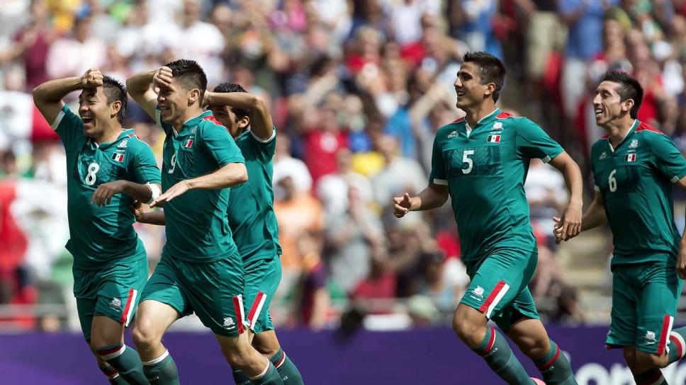 Gol de México en Londres 2012