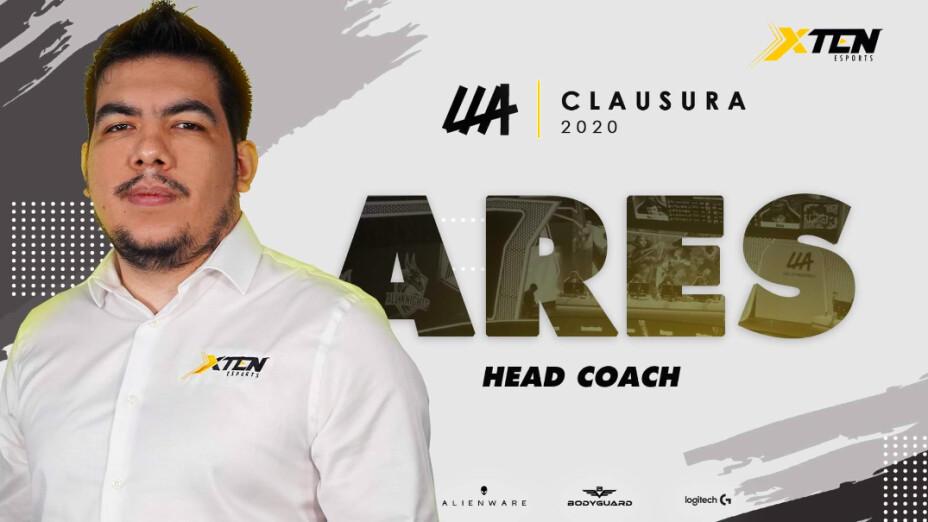 El nuevo coach de XTEN